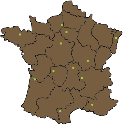 Carte des revendeurs CGP Horse Feed